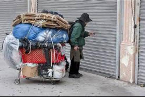 Cuộc sống của những người vô gia cư tại Mỹ.