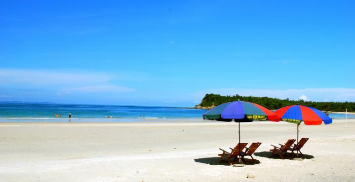 Bãi biển Ngọc vừng - du lịch biển Hạ Long