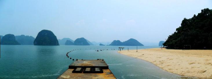 Bãi biển Ti Tốp - du lịch biển Hạ Long