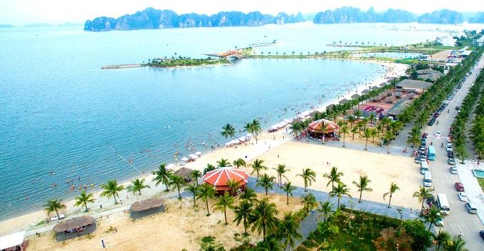 Bãi biển Tuần Châu - du lịch biển Hạ Long