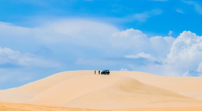 Đồi cát bay - du lịch biển Mũi Né
