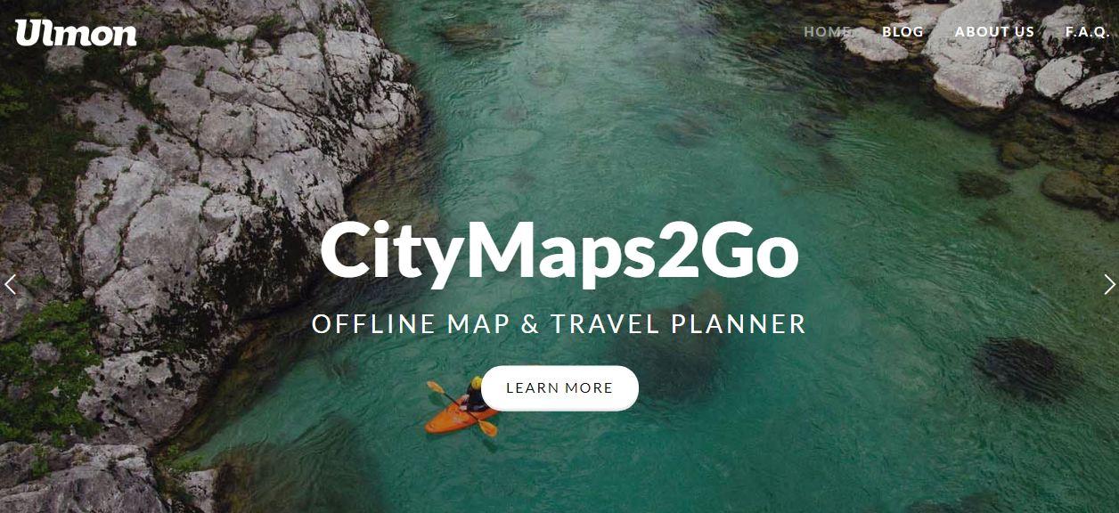 Citimaps2go - ứng dụng bản đồ cho di động