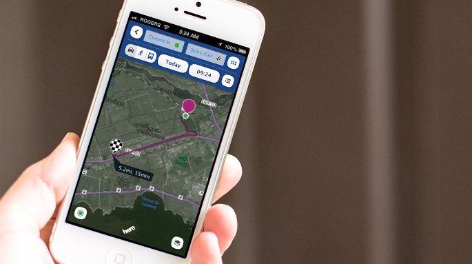 Here maps - ứng dụng bản đồ trên di động