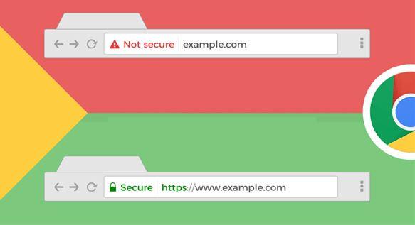 Trang web không an toàn