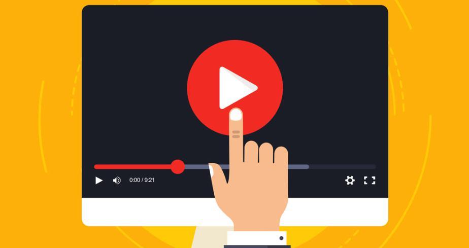 Video ở tiêu đề trang và nền trang web khách sạn - resort