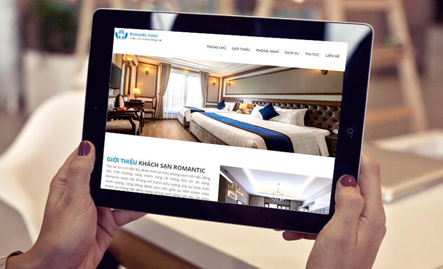 Vì sao phải thiết kế website khách sạn - resort - hotel